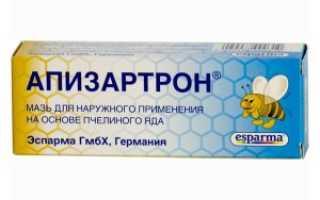 Описание и применение Апизартрона в лечении суставов