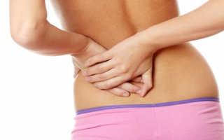 Меры помощи и профилактики при болях внизу спины