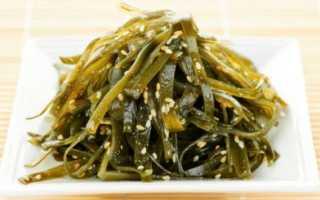 Как употреблять морскую капусту при лечении подагры?