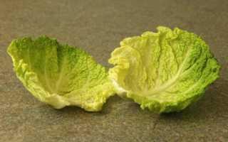Капустные листья при артрите и артрозе суставов