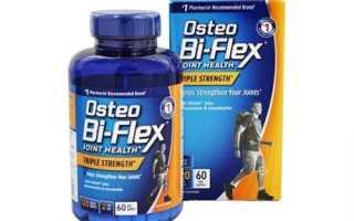 Применение препарата Остео Би-Флекс для лечения суставов