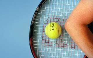 Как проявляется и лечится синдром теннисного локтя?